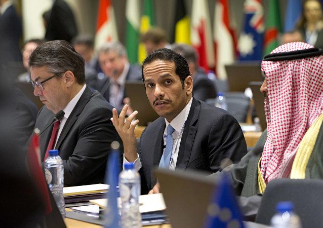 وزير الخارجية القطري، محمد بن عبدالرحمن آل ثاني