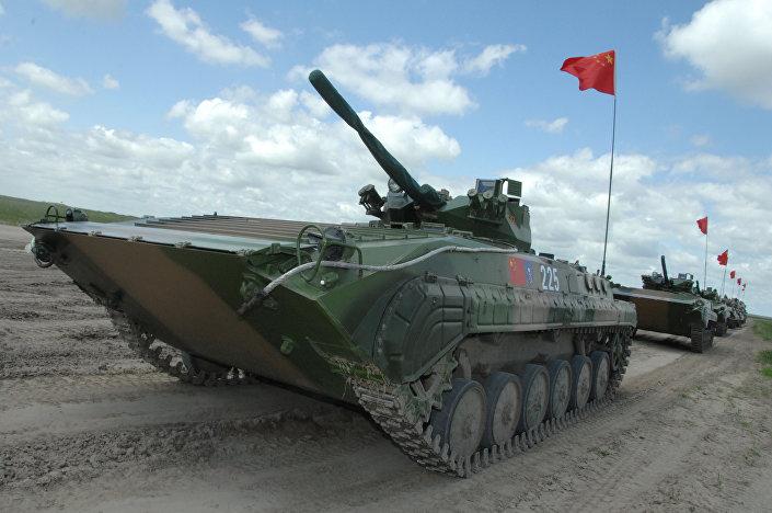 مدرعات الجيش الصيني