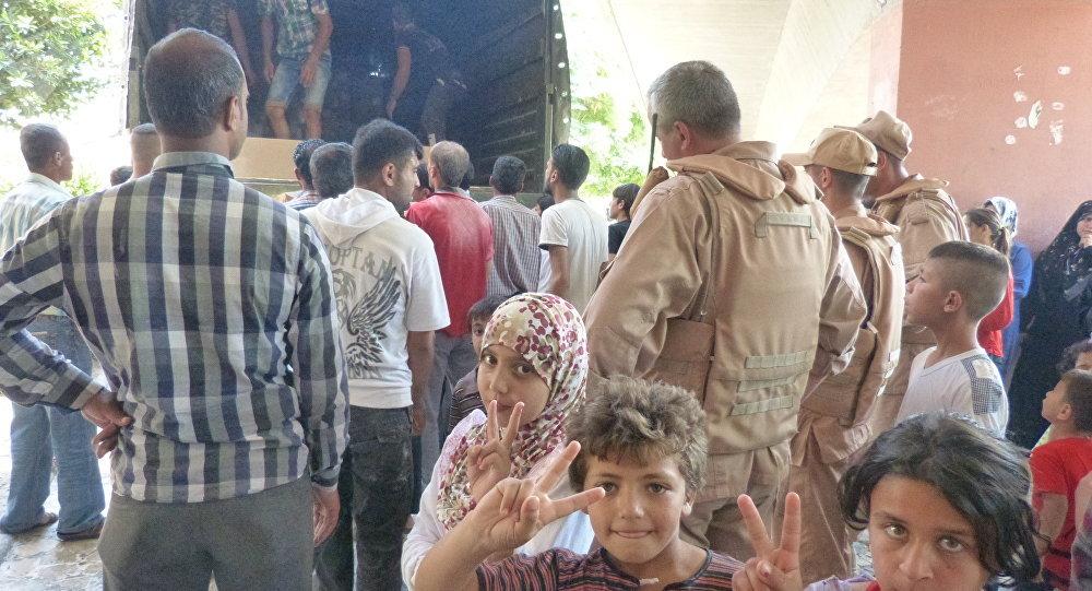 حي الوعر في سوريا