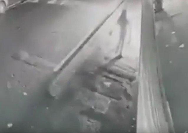محاولة احراق مسجد في مانشستر