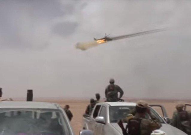 مشاهد خاصة من عمليات الجيش السوري شرق محمية التليلة على طريق تدمر دير الزور