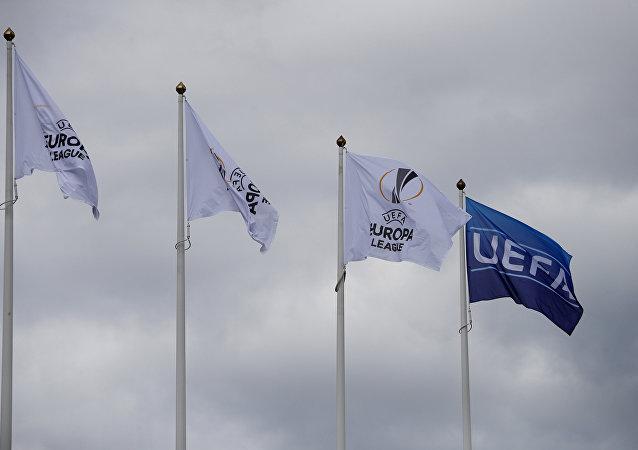 علم الاتحاد الأوروبي لكرة القدم
