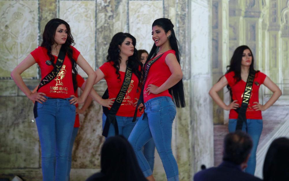 المشاركات في مسابقة ملكة جمال العراق، بغداد 25 مايو/ آيار 2017