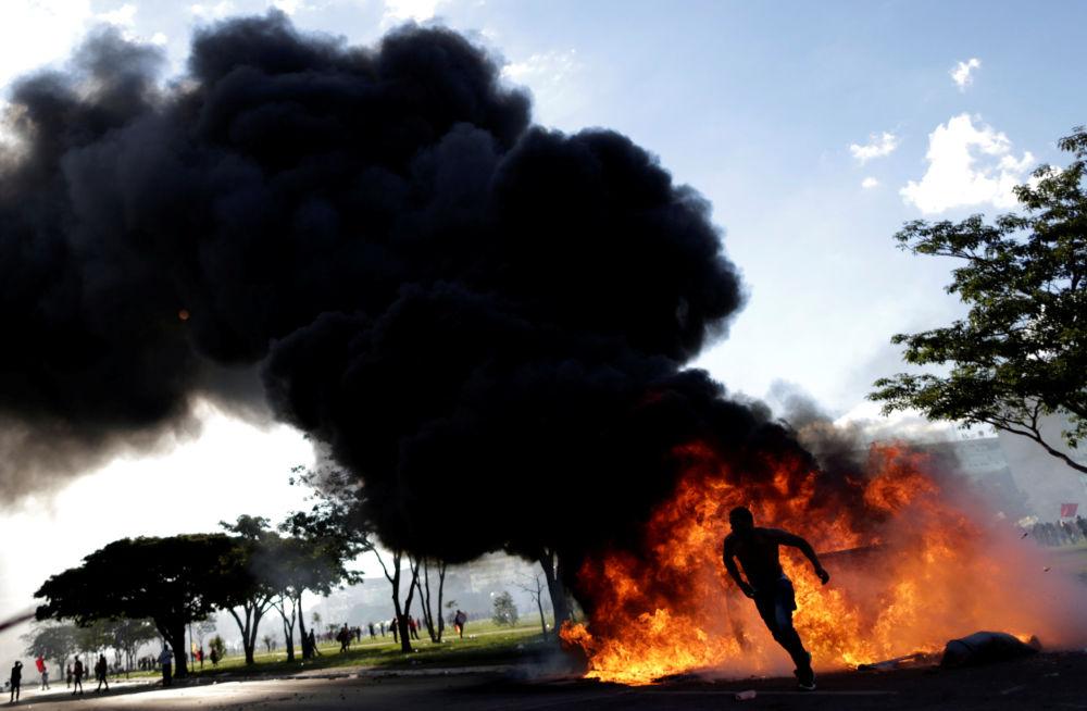 مظاهرات ضد الرئيس البرازيلي ميشال تامر، البرازيل 24 مايو/ آيار 2017