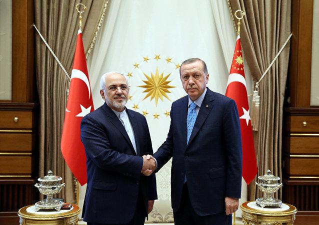 أردوغان وظريف
