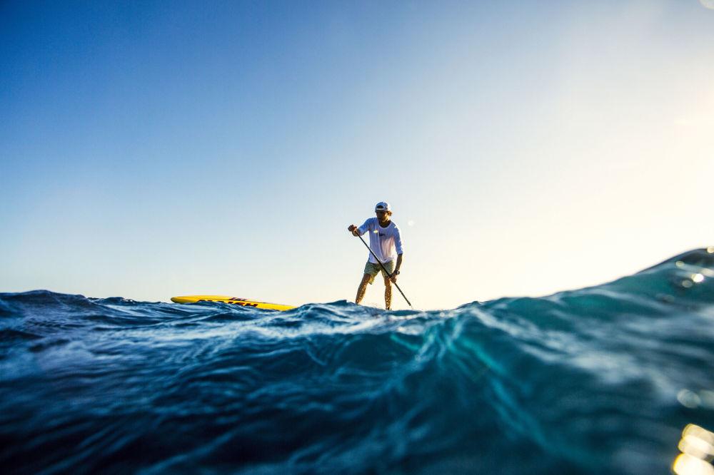 الرياضية جوردان ميرسير خلال بطولة العالم في هاواي، 2016