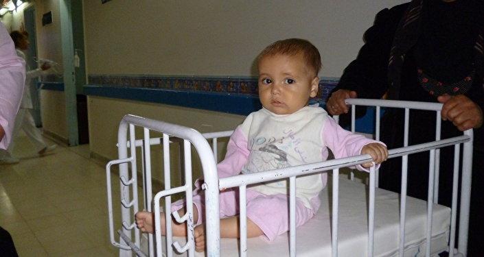 أطفال سوريا المصابون بالسرطان