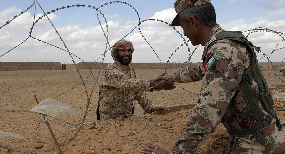 الحدود السورية الأردنية