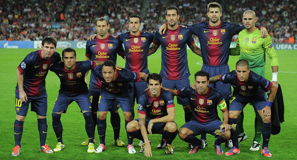 فريق برشلونة الإسباني