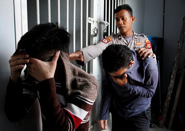 الشرطة الإندونيسية