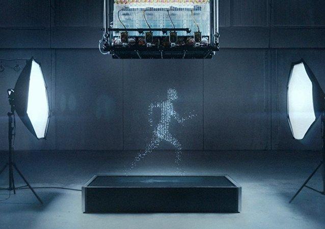 إبداع غاية في الروعة... محاكاة الإنسان عبر قطرات الماء
