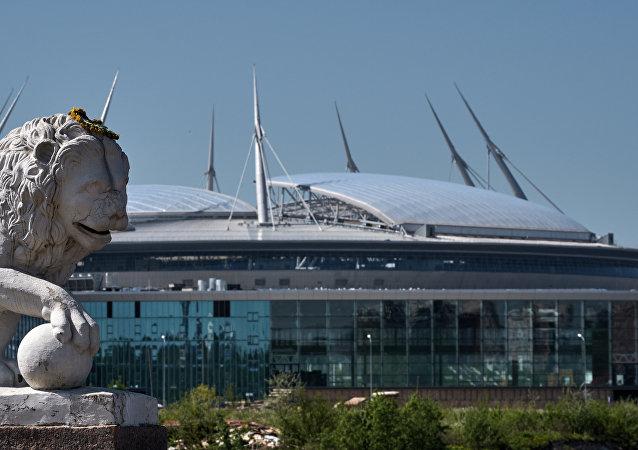 ملعب زينيت أرينا في سان بطرسبورغ