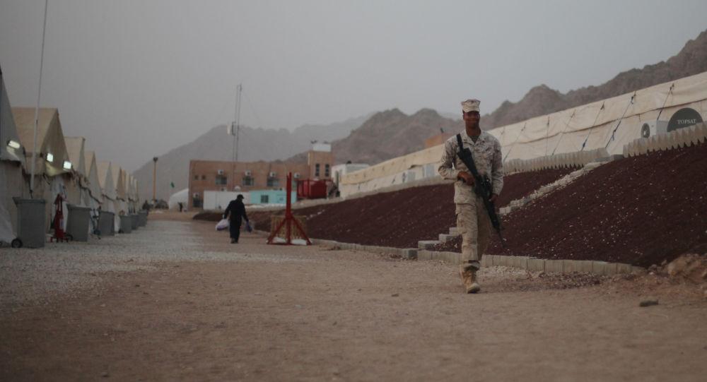القاعدة العسكرية في الأردن
