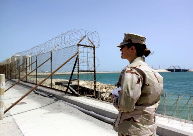 القاعدة البحرية الأمريكية في المنامة