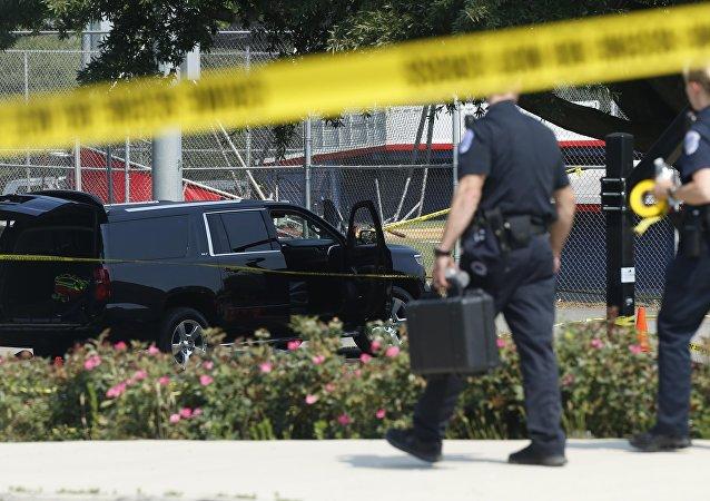 الشرطة في موقع حادث هجوم فرجينيا