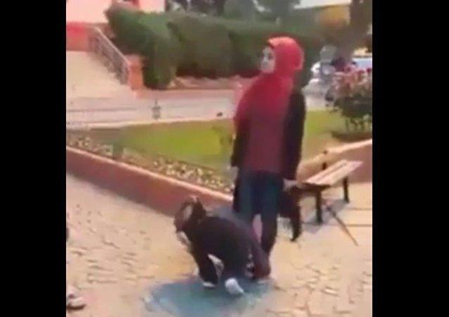 فتاة سورية