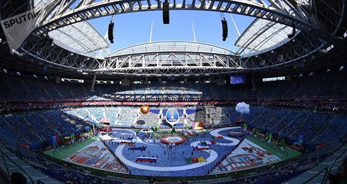 مراسم افتتاح كأس القارات