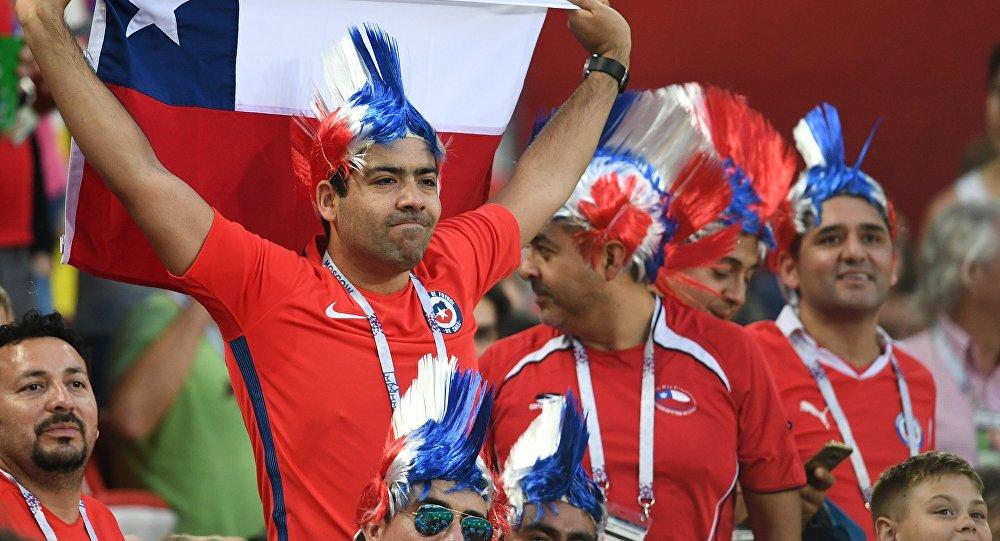 مشجعو المنتخب التشيلي