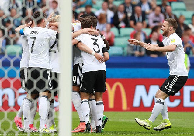 هدف المنتخب الألماني ضد المنتخب الأسترالي