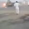 عمل بطولي من مصري ينقذ من خلاله محطة وقود من الاحتراق