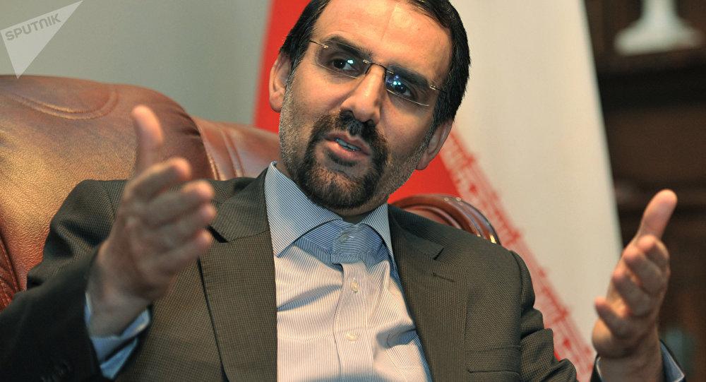 سفير إيران لدى روسيا الاتحادية مهدي سنائي