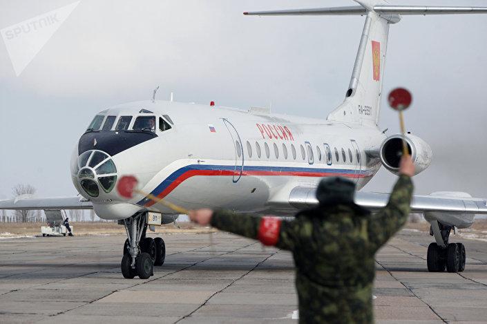 طائرة الرئيس الروسي فلاديمير بوتين روسيا