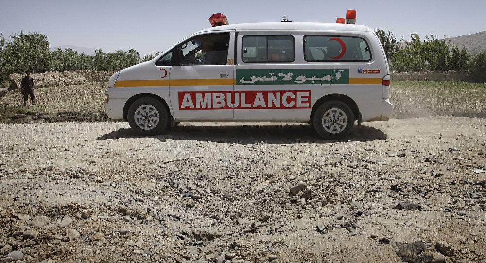 سيارة الإسعاف في أفغانستان