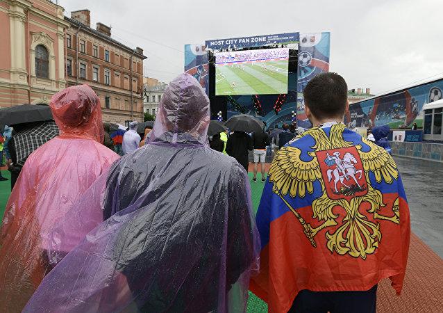 جماهير كأس القارات في روسيا