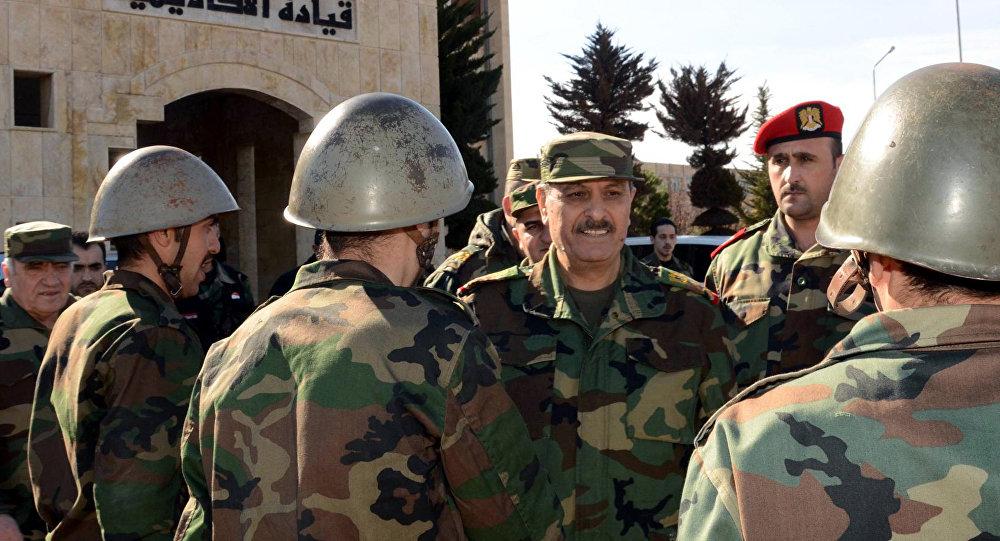 وزير الدفاع السوري جاسم الفريج