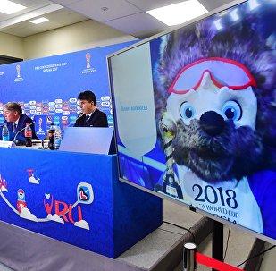 مؤتمر صحفي على خلفية انتهاء الدور الأول لكأس القارات
