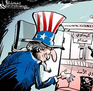 البيت الأبيض يتهم دمشق بالتحضير لهجوم كيميائي