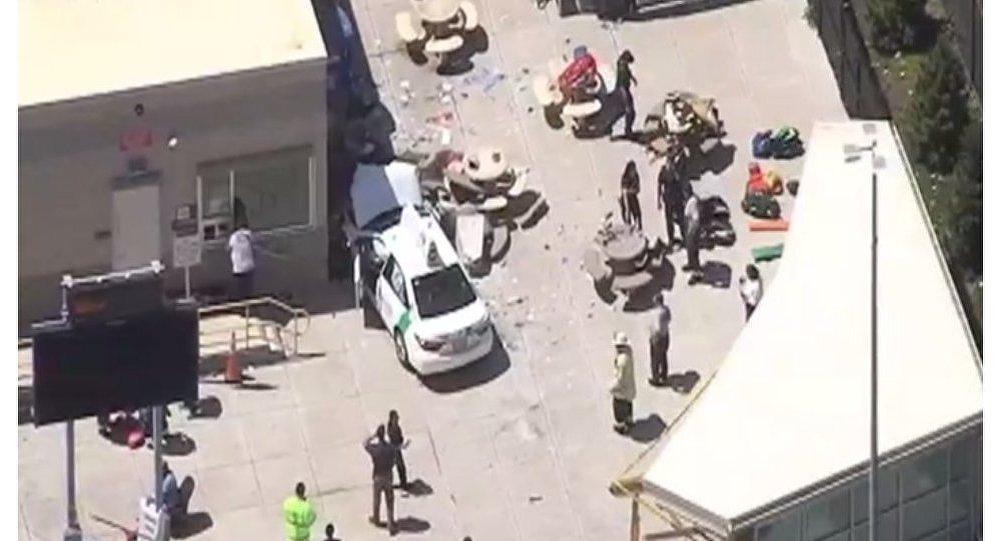 السيارة المستخدمة في حادث دهس بوسطن