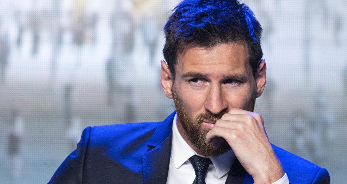 اللاعب الأرجنتيني ميسي
