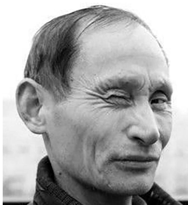 شبيه الرئيس الروسي في الصين