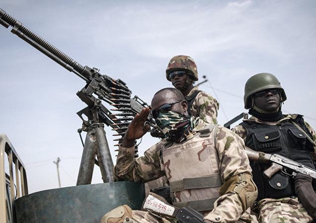 جنود جيش النيجر