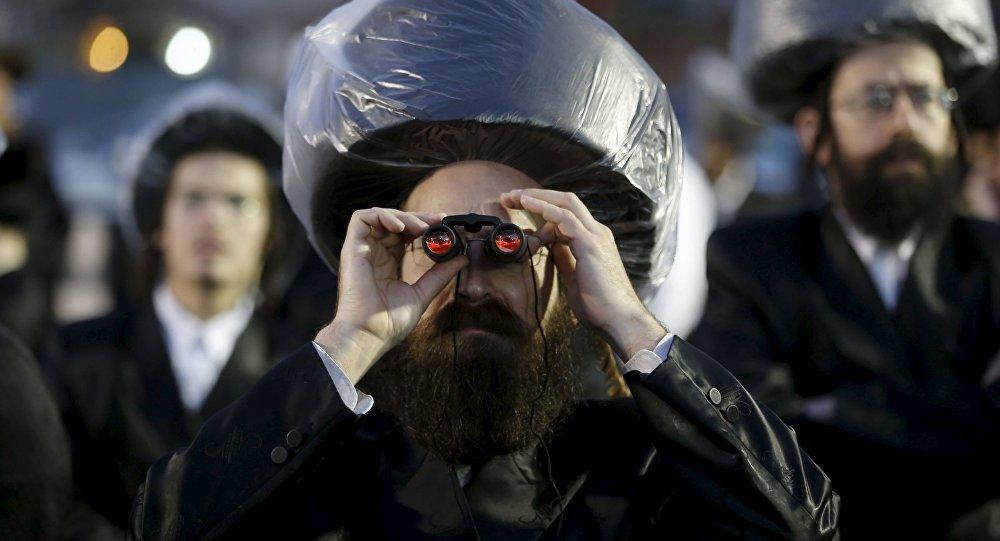 يهودي في حفل زفاف تقليدي