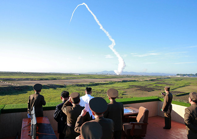 إطلاق صاروخ في كوريا الشمالية