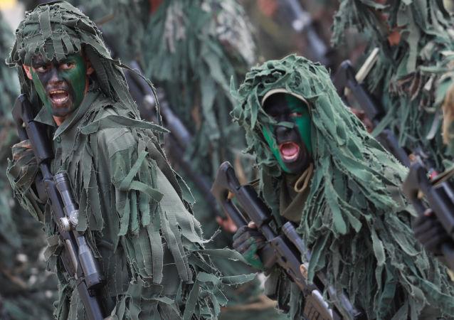 العرض العسكري بمناسبة الذكرى الـ 206 لعيد الاستقلال في كاراكاس، فنزويلا 5 يوليو/ تموز 2017