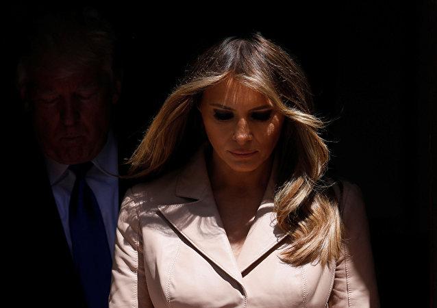 السيدة الأولى ميلانيا ترامب