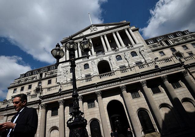بنك إنجلترا في لندن