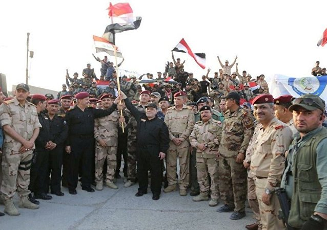 العبادي في الموصل