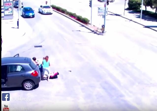 حادث سيارة في تركيا