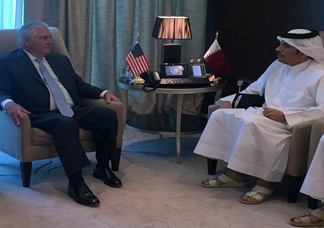 قطر - أمريكا
