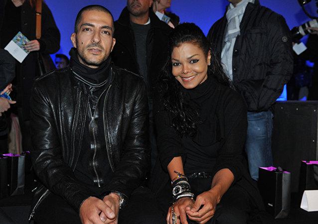 جانيت جاكسون وزوجها وسام المانع