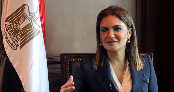 وزيرة الاستثمار والتعاون الدولى المصرية، سحر نصر