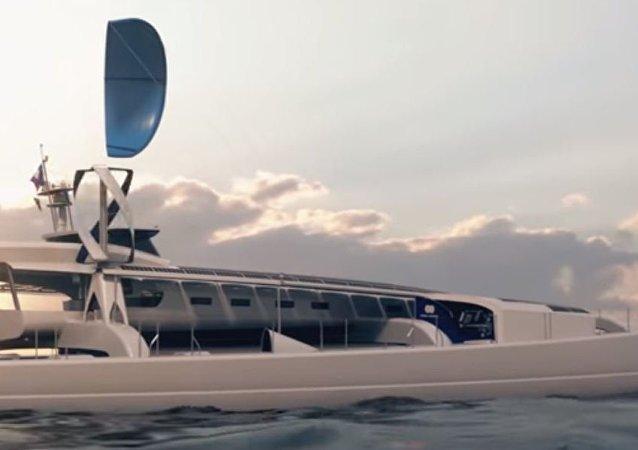 قارب كهربائي
