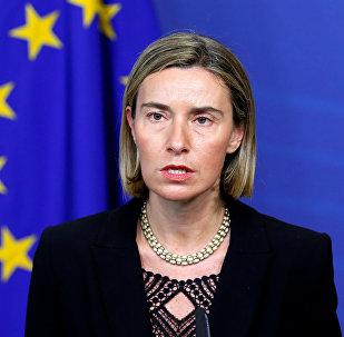 رئيس دبلوماسية الاتحاد الاوروبي فيديريكا موغيريني