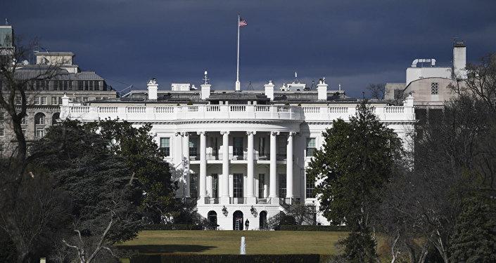 البيت الأبيض في واشنطن