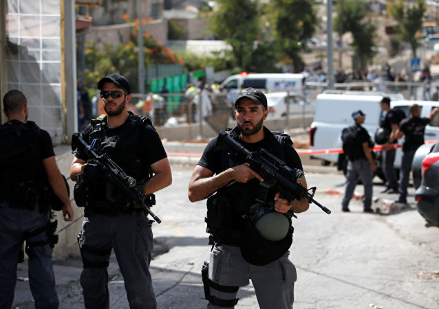 الشرطة الإسرائيلية في القدس