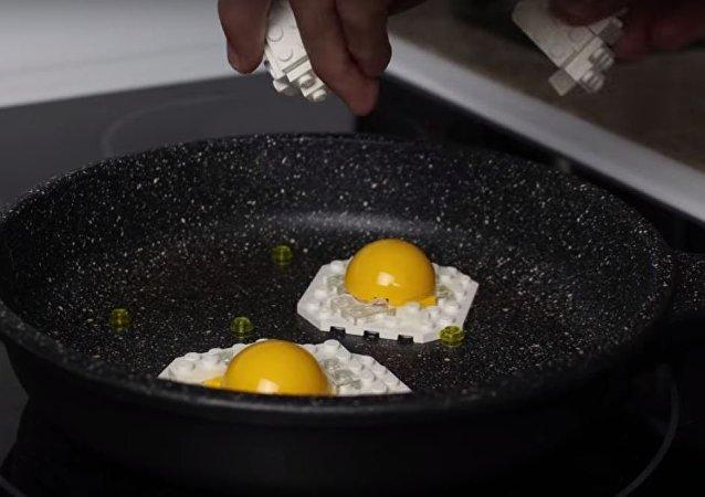 تحضير فطور من الليغو